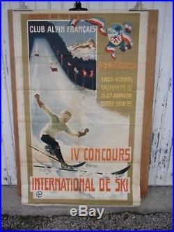 Club Alpin Francais Pyrenees 1910