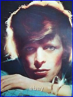 David Bowie Young Americans Affiche Promo Originale Très Rare 1975