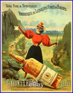 Elixir du Velay, vins fins&spititueux, distillerie, Le Puy, Gibelin&Rubod