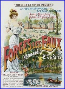 Forges Les Eaux Normandie Chemin De Fer De L'ouest