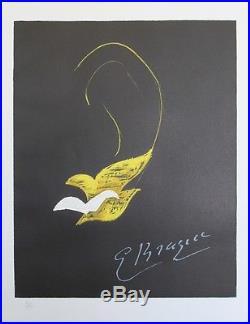 GEORGES BRAQUE (DYONISOS) Litho originale Armand ISRAEL / BARON DE LOEWENFELD
