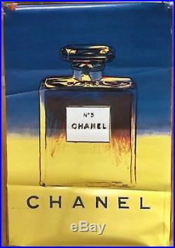 Grande affiche poster Chanel Andy Warhol