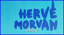 HERVE MORVAN AFFICHE ANCIENNE BIERE MUTZIG SUIVEZ MON PANACHE 156X114cm 1950