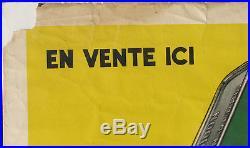 Huile Castrol 1 X Affiche Ancienne. Bidon Huile. Format 120 X 160 CM