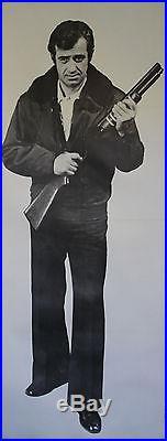 L'ALPAGUEUR Affiche originale entoilée 1976 (Jean-Paul BELMONDO)