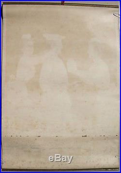 LIEBIG ANCIENNE AFFICHE D'INTERIEUR 41cm x 59cm époque fin 19e / début 20e