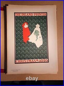 Les Maitres De L Affiche Bradley The Inland Printer Christmas 1895 Pl 172