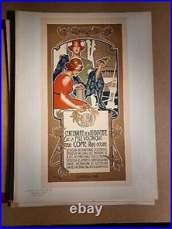 Les Maitres De L Affiche Hohenstein Centenaire De La Pile Voltaique Come Pl160
