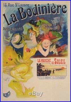 Les Maitres De L'affiche N°229 1900 Jules Cheret La Bodiniere Art Nouveau Superb