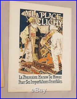 Les Maîtres de l'Affiche Pl 17 et 18 livraison N°5 avril 1896 incomplète 2 pl
