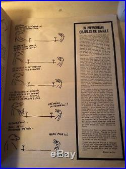 Lhebdo Hara-kiri Numéro 94 Du 16/11/1970 Bal Tragique a Colombey 1 Mort