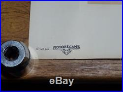 Lithographie Geo Ham Original Bill Lacey 996cc Grindlay Peerless 1000 Jap 1929