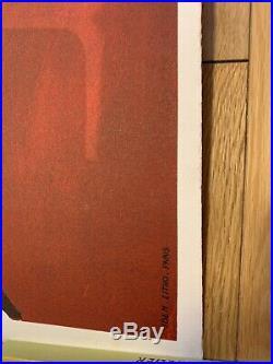Lithographie originale TEFAL 9872cm SAVIGNAC