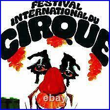 Lot 6 Affiches Anciennes FESTIVAL INTERNATIONAL du CIRQUE de MONTE CARLO MONACO