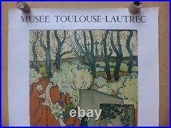 MAURICE DENIS affiche ancienne 1963 lithographie MOURLOT
