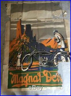 Magnat Debon 270 / 1920-1922 / A restaurer / Affiche très Rare