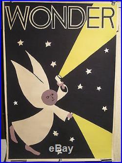 Maquette Affiche Pile Wonder Luciole Lumiere
