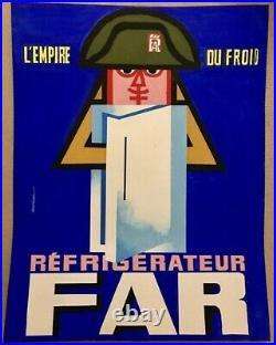 Maquette originale Far lempire du froid années 60 Auriac