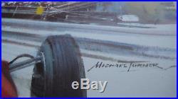Michael TURNER affiche lithographique originale grand Prix de Monaco 1967