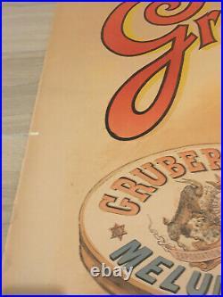 Original poster affiche 1895 BOUISSET FIRMIN Brasserie Francaise Melun GRUBER