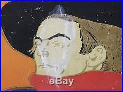 Originale Affiche Ambassadeurs Aristide Bruant Henri De Toulouse-lautrec 1892