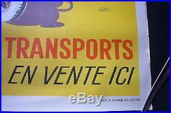 PUBLICITÉ ANCIENNE AFFICHE ART DÉCO 1930 CHOILLOT MOTO / E. MARTIN / RAMBOZ TBE