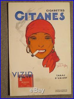 Plv Gitanes Cigarettes J D Ylen Femme Typee