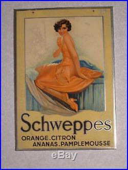 Pub Glacoide Schweppes Femme Deco 1930