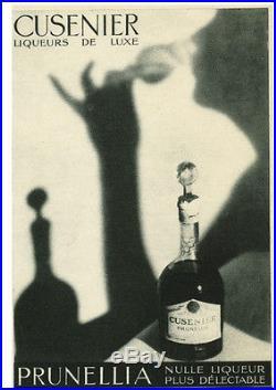Publicité Ancienne Cusenier Liqueur Prunellia 1931 1938 (P. 1 + 11)