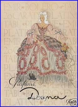 Publicité Ancienne Parfums DANA 1946 Princesse