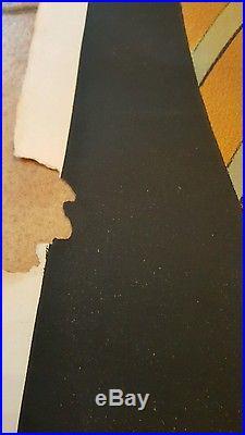 RARE AFFICHE COGNAC PELLISSON CAPPIELLO 1907 80 CM X 120 CM
