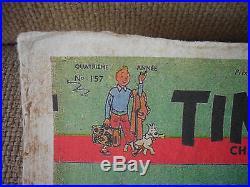 RARE Affiche TINTIN 3èm Anniversaire 1951