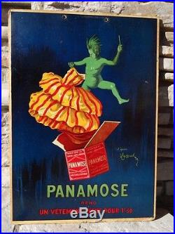 RARE CAPPIELLO CARTON PUB ANCIEN PANAMOSE