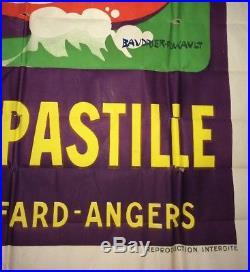 Rare Affiche Menthe Pastille Giffard Par Baudrier-foucault