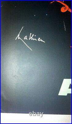 Rare Affiche poster plakat Air France G. Mathieu S. T. O Amérique du Sud 1967 Engl