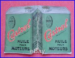 Rare Bloc Note Calepin 1930 Huiles et Graisses Castrol Publicitaire Collection