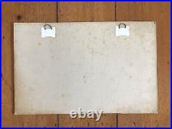 Rare Carton Presentoire Dop Monsavon Raymond Savignac 50s affiche ancienne