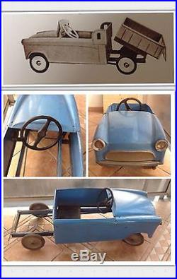 Rare Simca Aronde P60 Diamant Jean Pidoux Voiture A Pedale Pedal Car Pick Up