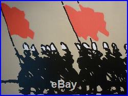 Rare affiche Alain le Quernec 1982 sérigraphie originale Bretagne