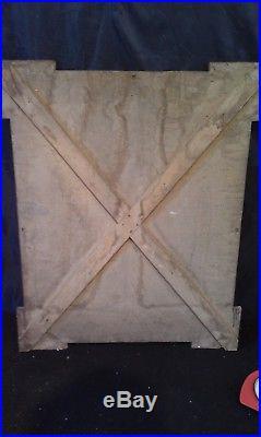 Rare affiche Pub encadrée La Cressonnée vers 1900 Absinthe, Bistro! Déco