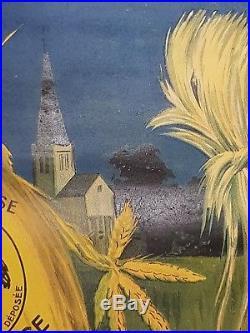 Rarissime Affiche ancienne POTASSE D'Alsace Par René Vincent imp Lapina 80x60cm