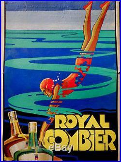 Royal Combier Carton Publicitaire 1930