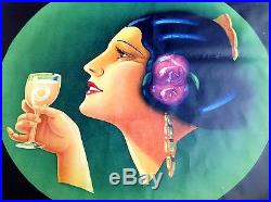 Spa orangina affiche ancienne poster vintage