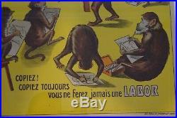 Superbe Affiche Originale Velo Ancien Cycles Labor