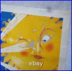 Superbe Affiche publicitaire Lithographié 1930 R. Dion THE RAPID