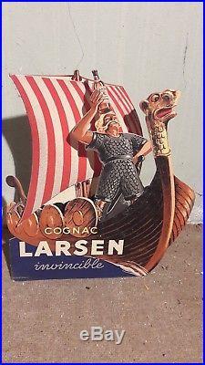 Superbe Plv Articule Viking Drakkar Cognac Larsen
