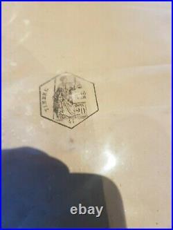 Superbe et rare Affiche ancienne originale Petit écolier de Lu Firmin BOUISSET