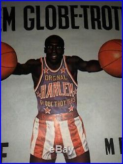 Suze Affiche Ancienne Basket Harlem Globe Trotters Publicitaire Bistrot Vintage