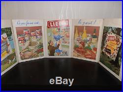 Très Rare Et Superbe Cartonnage Carton Publicitaire Liebig Ancien
